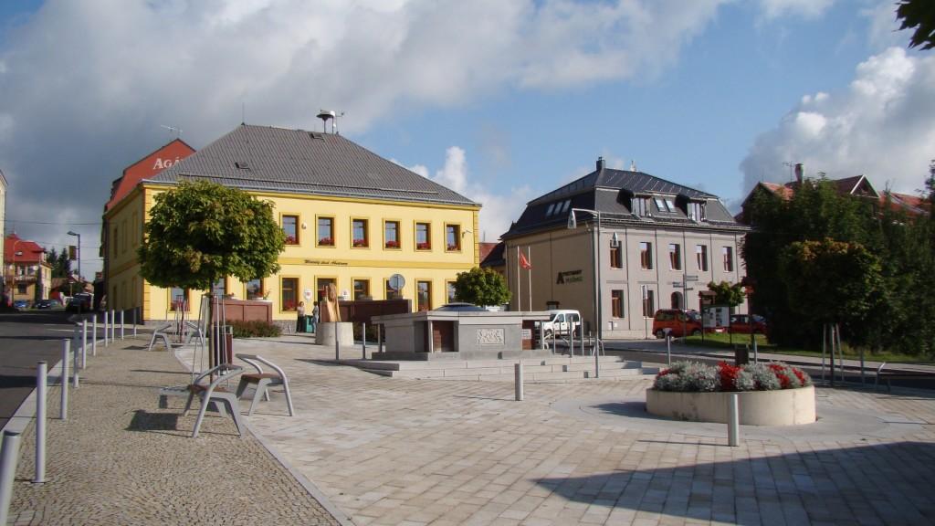 Abertamy náměstí